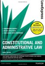 Law Express Constitutional and Administrative Law Revision