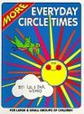More Everyday Circle Times