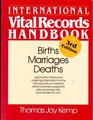 International Vital Records Handbook