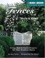 Fences Walls  Gates