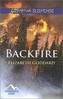 Backfire (Mountain Cove, Bk 3) (Love Inspired Suspense, No 467)