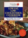 American Heart Association Low-Fat, Low-Cholesterol Cookbook, Second Edition : Heart-Healthy, Easy-to-Make Recipes That Taste Great (American Heart Association Cookbook)