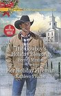 The Cowboy's Holiday Blessing / Her Holiday Fireman