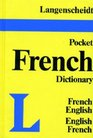 Langenscheidt's Pocket French Dictionary French-English English-French