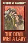 The Devil Met a Lady (Toby Peters, Bk 17) (Large Print)