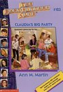 Claudia's Big Party (Baby-Sitters Club)