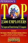 Petersons Top 2500 Employers 2000