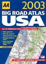 Big Road Atlas USA Canada and Mexico 2003