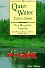 Quiet Water Canoe Guide New Hampshire/Vermont