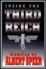 Inside the Third Reich Memoirs