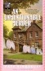 An Unmentionable Murder (Manor House, Bk 9)