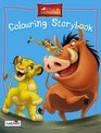 The Lion King Colouring Storybook Colour and Draw