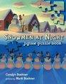 Snowmen at Night Jigsaw Puzzle Book