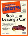 Complete Idiot's Guide to Buying or Leasing a Car