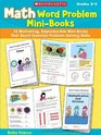 Math Word Problem Mini-Books 12 Motivating Reproducible Mini-Books That Boost Essential Problem-Solving Skills