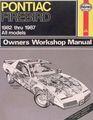 Pontiac Firebird Owners Workshop Manual