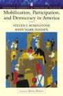 Mobilization Participationnd Democracy In America