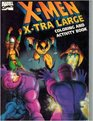 X-MEN X-TRA LARGE COLORING  A