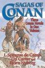 Sagas of Conan Conan the Swordsman/Conan the Liberator/Conan and the Spider God