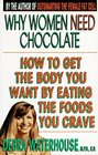 Why Women Need Chocolate Eat What You Crave to Look Good  Feel Great