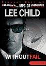 Without Fail (Jack Reacher, Bk 6) (Audio MP3 CD) (Unabridged)