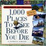 1000 Places to See Before You Die Page-A-Day Calendar 2008