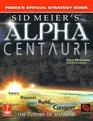 Sid Meier's Alpha Centauri Prima's Official Strategy Guide