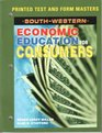 Printed Test and Materials Economic Education for Consumers