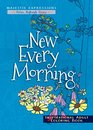 New Every Morning Inspirational Adult Coloring Book