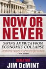 Now or Never Saving America from Economic Collapse