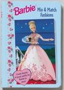Barbie Mix and Match Fashions Sectioned Flip Book