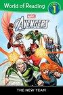 World of Reading Avengers The New Team Level 1