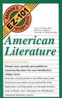 American Literature (Barron's Ez-101 Study Keys)