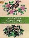 Anne Orr's Charted Designs (Dover Needlework)