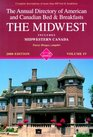 The Midwest (Annual Directory of Midwestern Bed & Breakfasts)