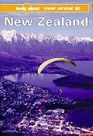 Lonely Planet New Zealand A Travel Survival Kit