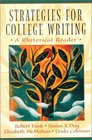 Strategies for College Writing A Rhetorical Reader