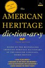 American Heritage Dictionary  Third Edition