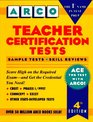 Teacher Certification Tests