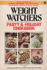 Weight Watchers party  holiday cookbook