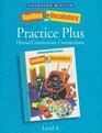 Spelling And Vocabulary 4 Practice Plus