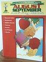 August September Activity Book
