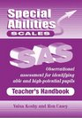 Special Abilities Scales Scales Observational Assessment for Identifying Able and High-potential Pupils