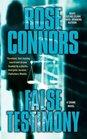 False Testimony A Crime Novel