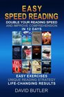 Easy Speed Reading Double Your Reading Speed and Improve Comprehension in 12 Days - Easy Exercises - Unique Reading Strategy - Life-Changing Results