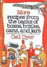 More Recipes from the Backs of Boxes Bottles Cans and Jars