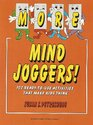 More Mind Joggers 102 Ready to Use Activities That Make Kids Think