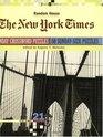 New York Times Sunday Crossword Puzzles Volume 21