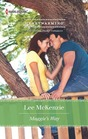 Maggie's Way (The Man for Maggie) (Harlequin Heartwarming, No 89) (Larger Print)
