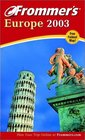 Frommer's Europe 2003
